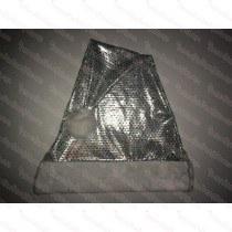 Premium Silver Sequin Santa Hat